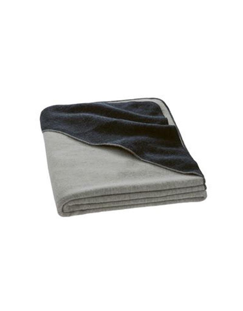 Disana Disana - deken,  grey/anthracite, 200 x 135 cm