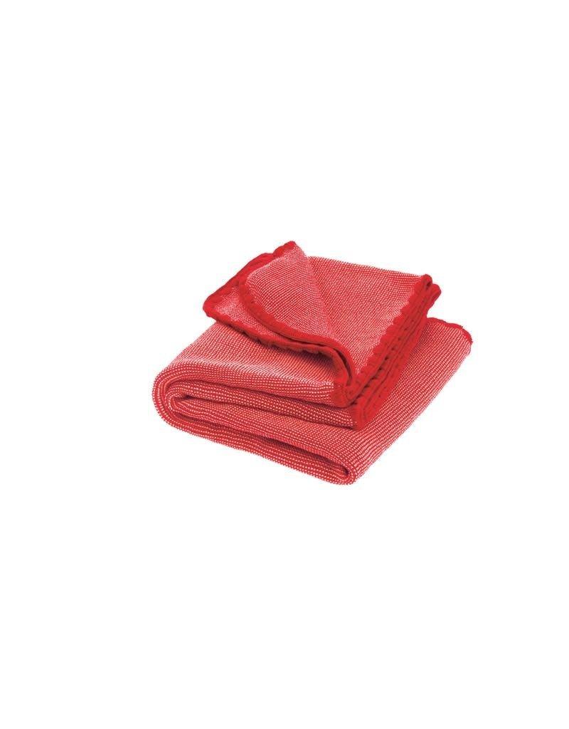 Disana Disana - deken, rood/roze, 100 x 80 cm