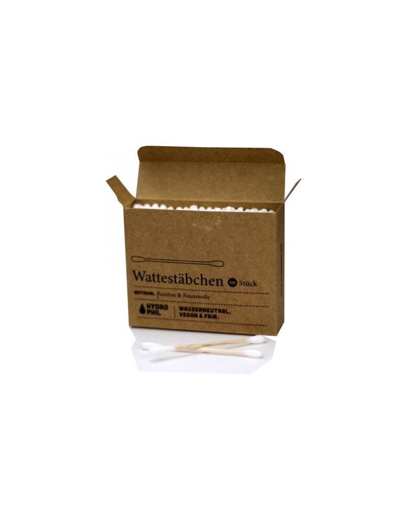 Hydrophil Hydrophil - wattenstaafjes, katoen en bamboe