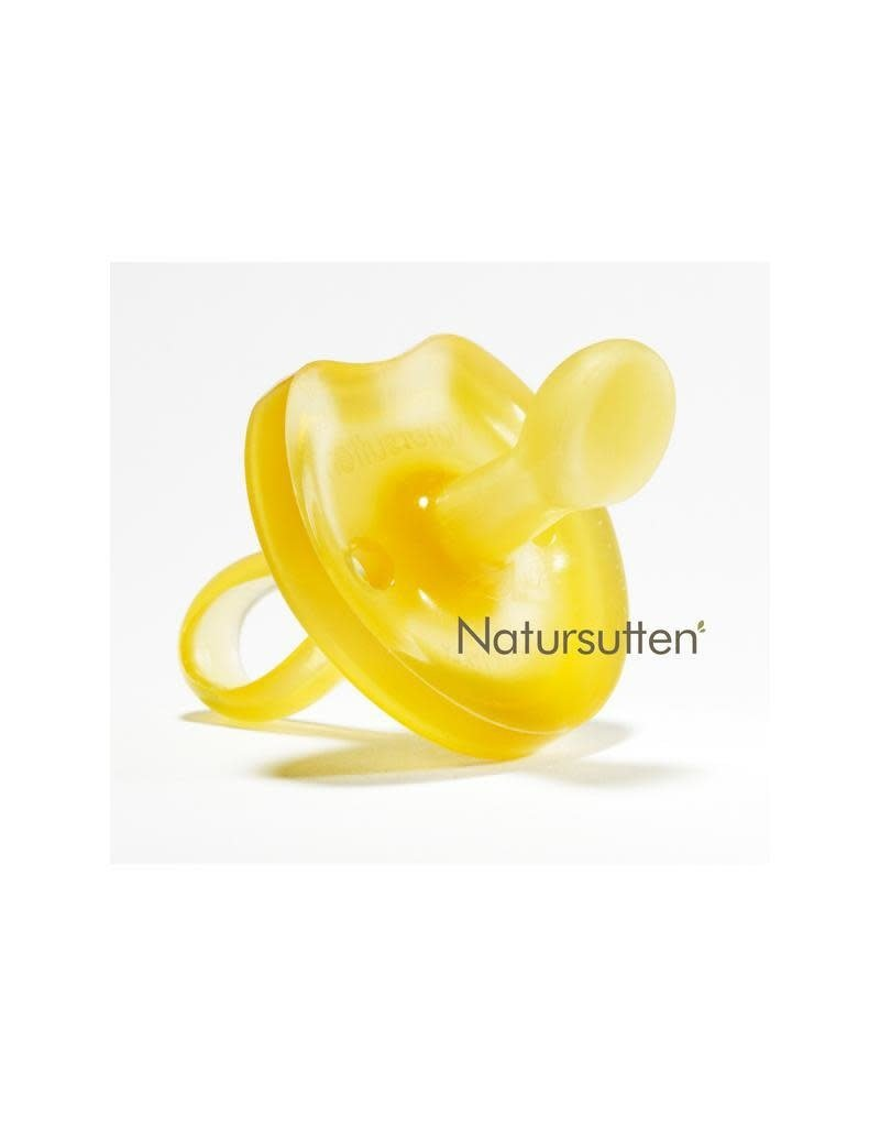 Natursutten Natursutten - fopspeen, vlinder, natuurrubber, orthodontisch, 6-12 ma