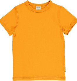 Maxomorra T-shirt, a solid tangerine (3-16j)