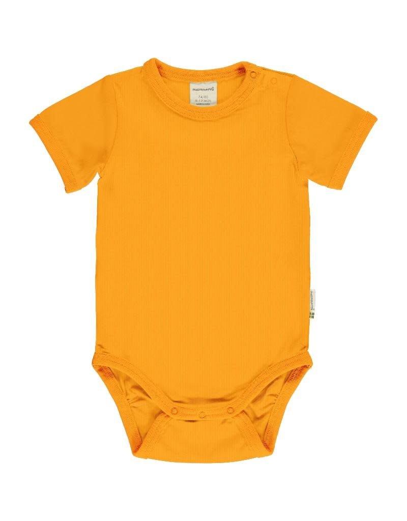 Maxomorra Maxomorra - body, ss, a solid tangerine