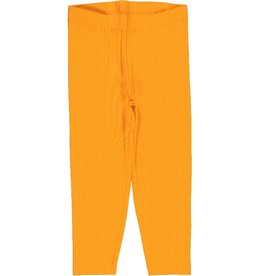 Maxomorra Legging, cropped, solid tangerine (0-2j)