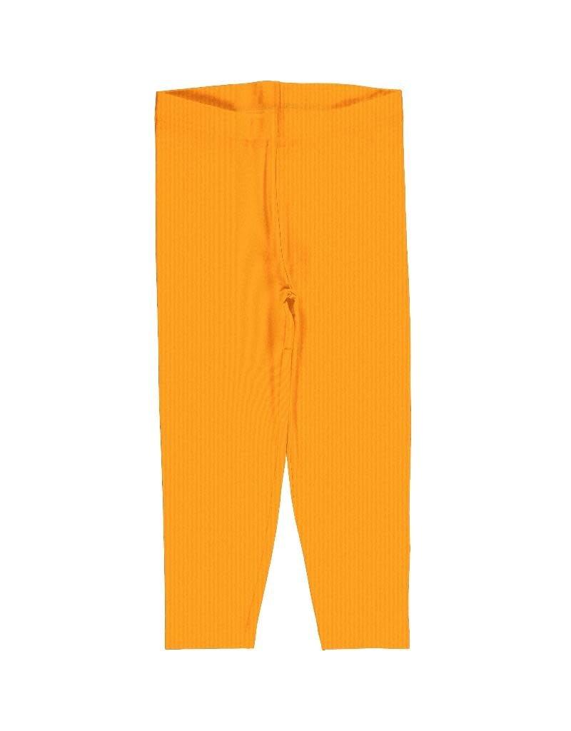 Maxomorra Maxomorra - legging, cropped, solid tangerine