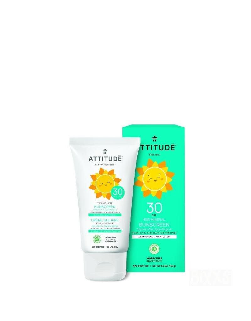 Attitude Attitude - Little Ones zonnebrandcrème, geurvrij, SPF 30, 150ml