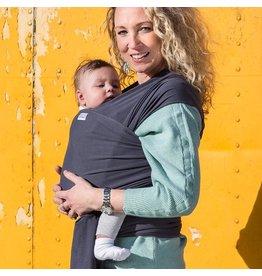 Pure Baby Love Rekbare doek Basics dark grey