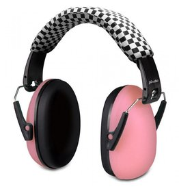 Alecto Kinderkoptelefoon voor gehoorbescherming, roze