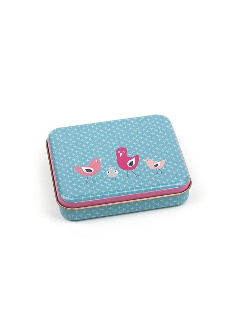 Froy & Dind Froy & Dind – box, rechthoekig, birdies, 10 x 8,5 x 2 cm