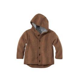 Disana Disana - jacket, hazelnootbruin (3-16j)