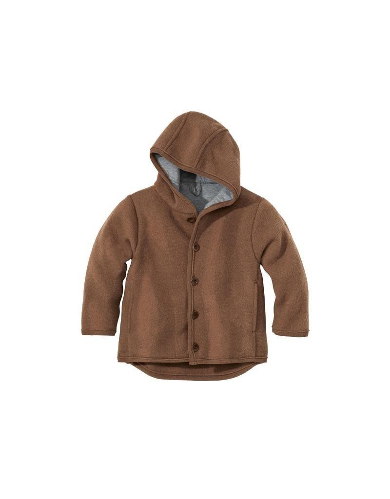Disana Disana - jacket, hazelnootbruin