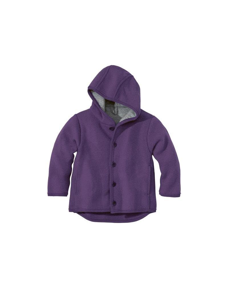 Disana Disana - jacket, plum (0-2j)