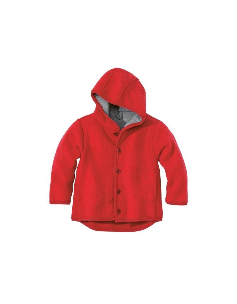 Disana Disana - jacket, red (0-2j)