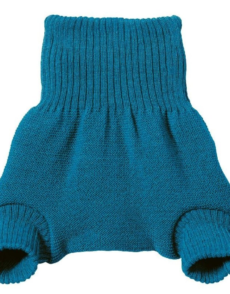 Disana Disana - overbroekje, wol, blauw (0-2j)