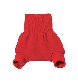 Disana Overbroekje, wol, rood (0-2j)