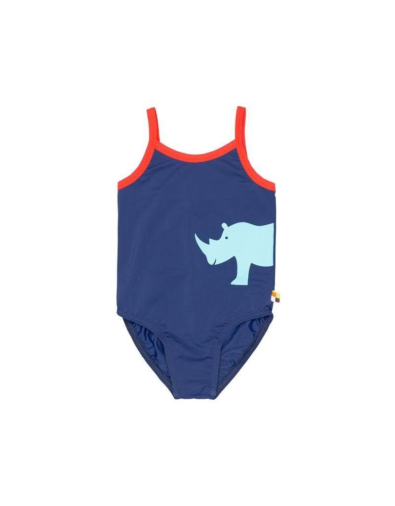 Loud+Proud Loud+Proud - zwempak, ultramarin, neushoorn