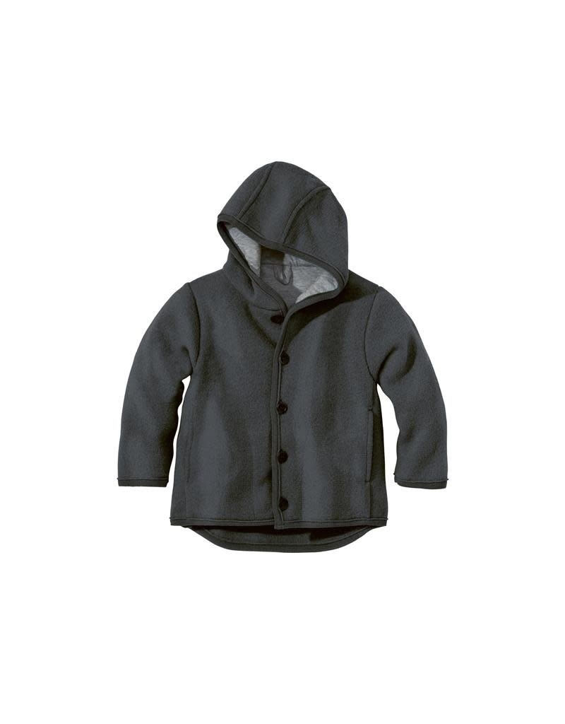 Disana Disana - jacket, anthracite (0-2j)