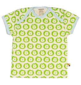 Loud+Proud T-shirt, lime leeuwen (0-2j)