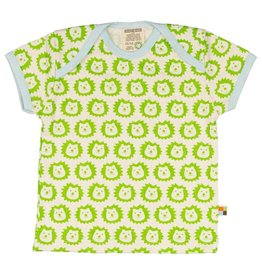 Loud+Proud T-shirt, lime leeuwen B (0-2j)