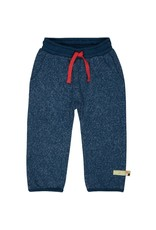 Loud+Proud Loud+Proud - broek, melange knit, ultramarine - B