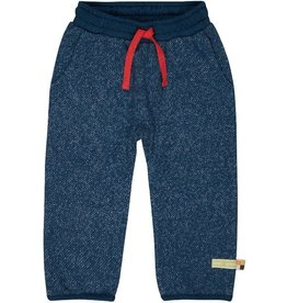 Loud+Proud Broek, melange knit, ultramarine (3-16j)