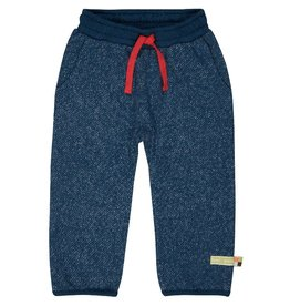 Loud+Proud Broek, melange knit, ultramarine (3-16j)