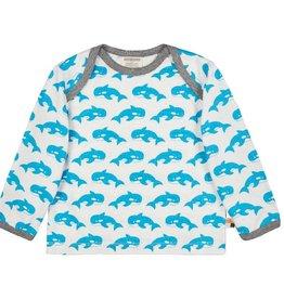 Loud+Proud Shirt, aqua orka's (3-16j)
