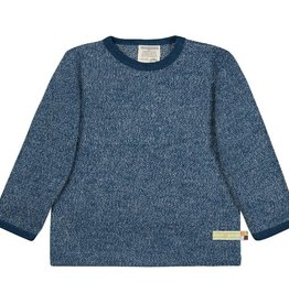 Loud+Proud Shirt, melange knit, ultramarine (0-2j)