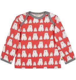 Loud+Proud Shirt, melon, ijsberen (3-16j)