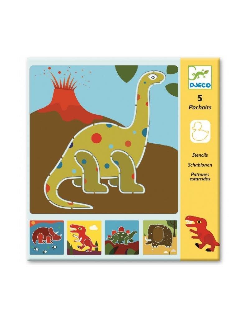 Djeco Djeco - sjablonen, dinosaurussen