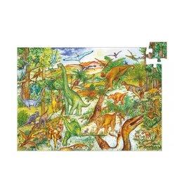Djeco Puzzel, observation, dinosaurussen
