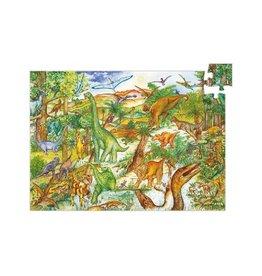 Djeco Zoekpuzzel,  dinosaurussen