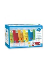 Djeco Djeco - vingerverf, 6 tubes, blauw-geel-rood