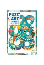 Djeco Djeco - puzzel, puzz'art, octopus, 350 stukken