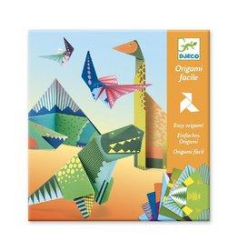 Djeco Origami, eenvoudig, dinosaurussen