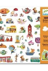 Djeco Djeco - stickers, onderweg