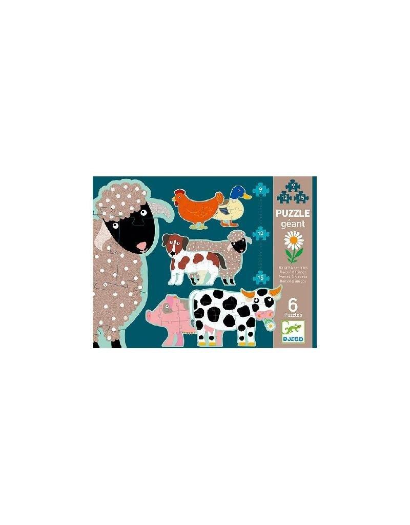 Djeco Djeco - puzzel, giant, Honoré en vrienden