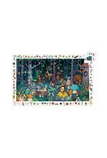 Djeco Djeco - puzzel, observation, betoverde bos, 100 stukken