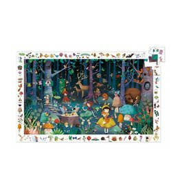 Djeco Puzzel, observation, betoverd bos