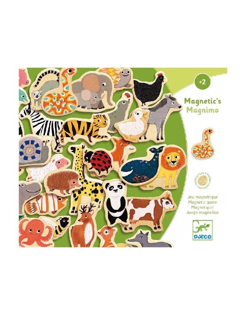 Djeco Djeco - magneten, hout, dieren