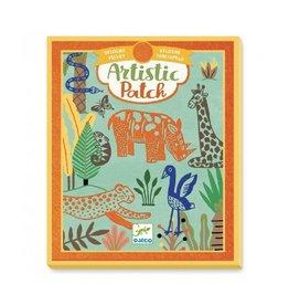 Djeco Stickers, vilt, wilde dieren