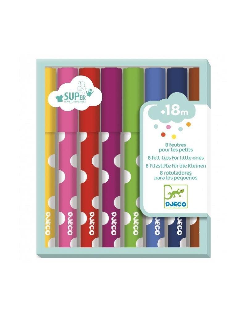 Djeco Djeco - viltstiften, voor de kleintjes