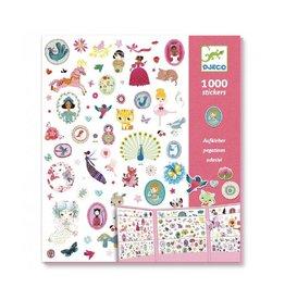Djeco Stickers, dieren en meisjes