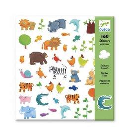 Djeco Stickers, dieren