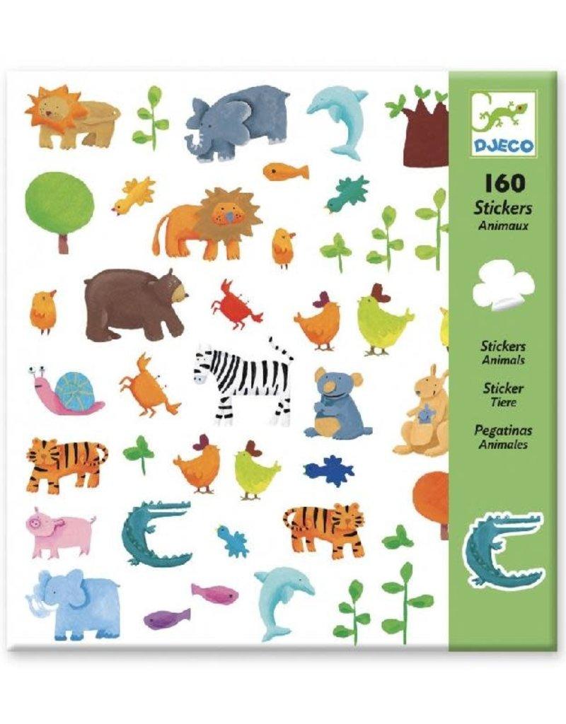 Djeco Djeco - stickers, dieren