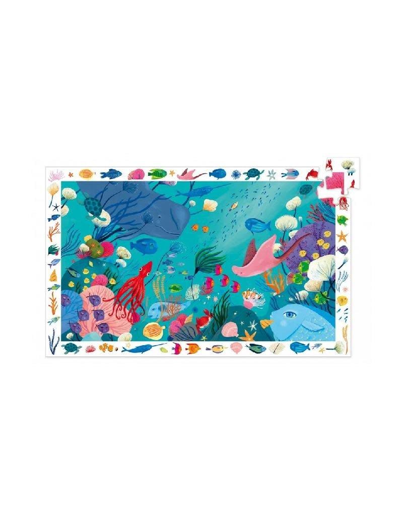 Djeco Djeco - puzzel, observation, aquatisch, 54 stukken