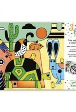 Djeco Djeco - kleurplaten, vilt, colorado