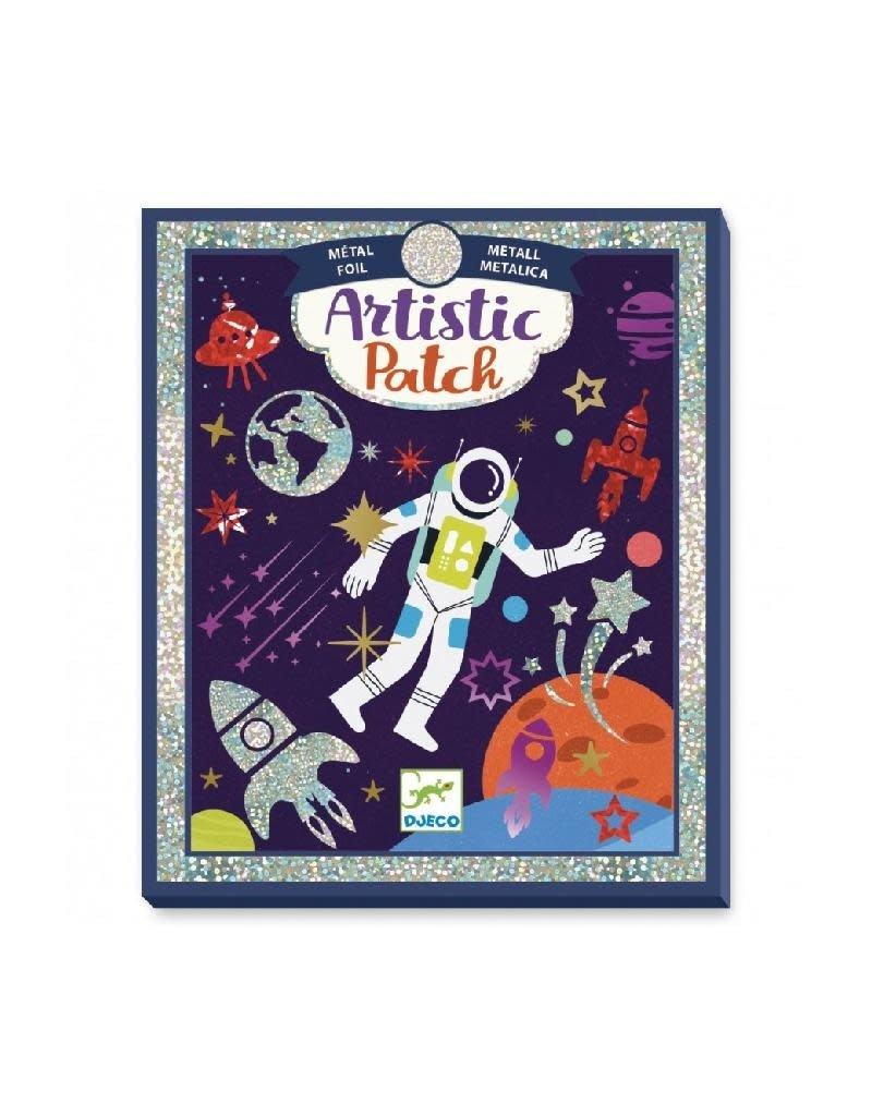 Djeco Djeco - stickers, metaalfolie, kosmos