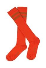 Lily Balou Lily Balou -  kniekousen, jordan stripe, mandarin red