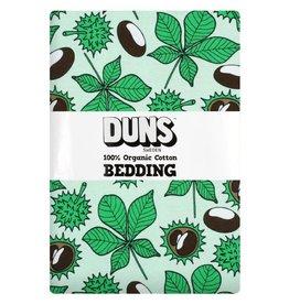 Duns Sweden Donsdekenovertrek en kussensloop, chestnut brook green