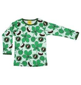 DUNS Sweden Shirt, chestnut brook green (3-16j)